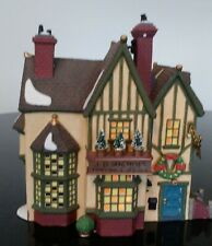 Department 56 Dickens' Village Series J.D.Nichols Toy Shop 1995 Production
