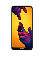 "Brand New Huawei P20 Lite Black 5.84"" 64GB 4G LTE Octa Core Sim Free Unlocked UK"