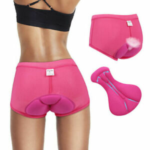 Women's 3D Padded Cycling Underwear Shorts Breathable Lightweight Bike Shorts