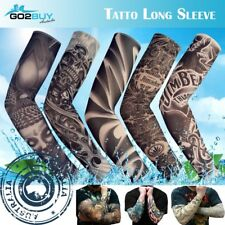 Tattoo Sleeve Sun UV Protection Stretch Arm Cover Cycling Driving Costume Dress