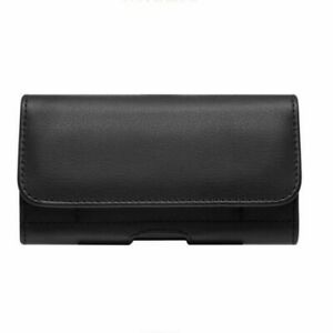 Leather Phone Pouch Belt Case Waist Bag Men Wallet for iPhone 12 11 Plus Max