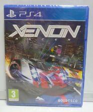 XENON RACERS SONY PLAYSTATION 4 PAL NEW SEALED REGION FREE