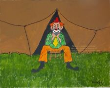 Beautiful Reproduction of Orig Clowns from Acrylic Paintings on Canvas, Email