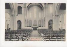 St Ignatius Church Stamford Hill North London Vintage Postcard 277b
