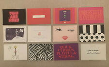 """SET OF 12 KATE SPADE """"VINTAGE"""" COLLECTIBLE POST CARDS / Stationery Brand New"""
