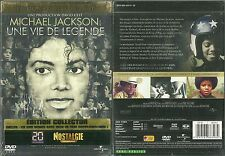 EDITION 2 DVD - MICHAEL JACKSON : UNE VIE DE LEGENDE / NEUF EMBALLE NEW & SEALED