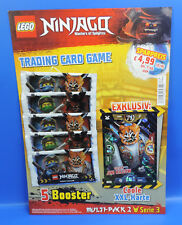 Lego® Ninjago Serie 3 Multi-Pack 2 XXL Karte Fieser Oni Killow +5 Booster