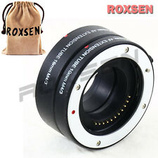 Auto Focus Macro Extension Tube Adapter 10 16mm for Micro 4/3 mount E-PL6 OM-D