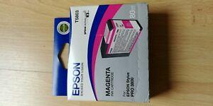 Epson Tintenpatrone T5803 magenta 80ml für Epson Stylus Pro 3800