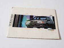 🔵 LIBRETTO USO MANUTENZIONE VOLVO 460 1990