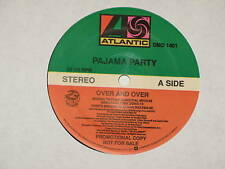 "PAJAMA PARTY over and over 12"" RECORD PROMO"