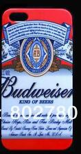 Coque Housse Etui BUDWEISER bière beer Pour IPhone 5 5S 5C