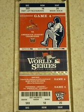 2013 World Series Original Ticket - Red Sox vs. Cardinals Game 4