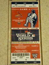 2013 World Series Original Ticket - Red Sox vs. Cardinals Game 4