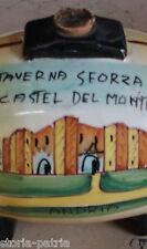 VIETRI_CAMPANIA_PUGLIA_CASTEL DEL MONTE_ENOLOGIA_VINO_DECORATIVA CERAMICA