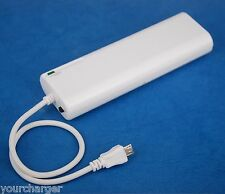 AA Battery Portable Backup Charger White for Sony Xperia Z1 Z Ultra C ZR SP ZL V