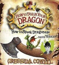 How to Speak Dragonese (Hiccup) by Cressida Cowell | Audio CD Book | 97818403297
