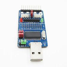 NEW ALL IN 1 Multifunction USB to SPI/I2C/IIC/UART/TTL/ISP Serial Adapter Module