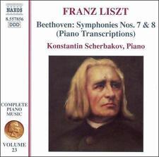 Franz Liszt: Beethoven Symphonies 7 & 8 (Piano Transcriptions), New Music