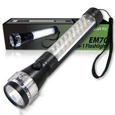 EcoGear FX (EM70): 3-in-1 Multi-Function Emergency LED Vehicle Flashlight