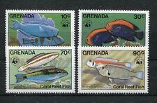 Grenada 1299/1302 postfrisch / WWF - Fische ..............................1/3774