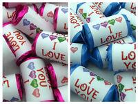 Personalised I love you Mini Love Heart Sweets Boyfriend Husband Fiance