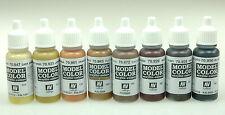 Vallejo 70182 Model Color Farbset Holz & Leder 8 x 17 ml