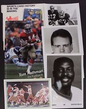 Sports Memorabilia NBA NFL BRUCE SMITH PHIL SIMMS Misc Lot 13 Items 17E