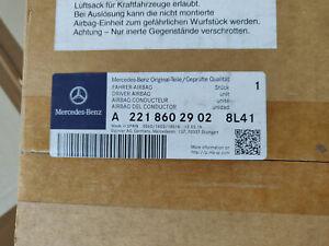 A2218602902 8L41 - ORIGINAL MERCEDES CL S  Fahrer Airbag NEU / DRIVER AIRBAG/