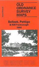OLD ORDNANCE MAP Belleek, Pettigo & North West Fermanagh 1900: Ireland Sheet 32