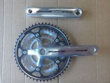 Square Taper ISO Road Bike-Racing Double Chainring Bicycle Chainsets & Cranks