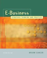 E-business: Strategic Thinking and Practice: Volume of-ExLibrary