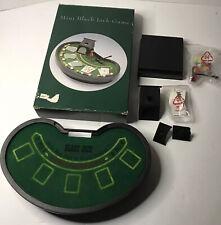 Mini Black Jack Table Game- Complete Set -Table Top Games