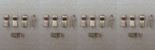 20 OLD SCHOOL GLASS FUSE TAPS! GM C10 SILVERADO BLAZER TRUCK JIMMY 4X4 OFF ROAD