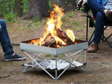 *New* Fireside Outdoor Portable Folding Outdoor Pop-Up Camping Campfire Fire Pit