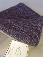 """Pottery Barn FAYE TEXTURED LINEN PILLOW COVER, 20"""", THISTLE $49.50 Purple NEW"""