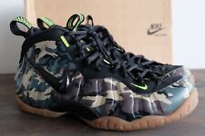 Nike Air Foamposite Pro PRM LE Camo 587547 300 Army Forest Black Size 13