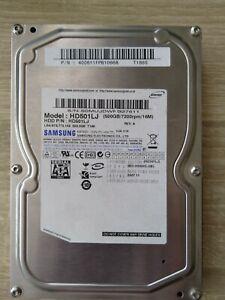 "SAMSUNG 500MB HD501LJ Desktop 3.5"" SATA Hard Disk Drive"