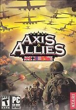Axis & Allies PC Computer Video Board Table Top Game Small BOX GATEFOLD RARE OOP