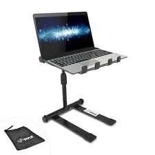 Pyle pro PLPTS55 Universal Portable Foldable Telescoping Height DJ Laptop Stand