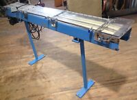 "6ft Industrial Electric Conveyor 7"" Wide Belt Baldor Reliance GPP7452 -CAN SHIP"