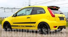 SIDE STRIPES GRAPHICS TO FIT FIESTA MK6  (PAIR) CAR DECALS STICKERS