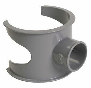 NICOLL Selle PVC de branchement à 90° Mâle - Femelle. 100X40