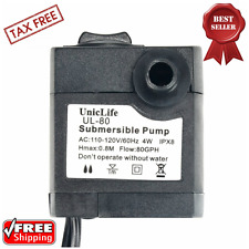 Water Pump Submersible Aquarium Ponds Fountains Hydroponics System 110V - 120V