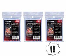 Lot de 300 pochettes Ultra Pro pour cartes Soft Card Sleeves JCC Pokemon, MTG 🚀