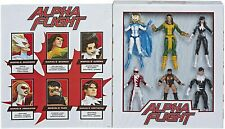 """Marvel Classic Hasbro Legends Series 6"""" Collectible Action 6 Pack Alpha Flight"""