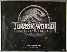 Cinema Poster: JURASSIC WORLD FALLEN KINGDOM 2018 (Advance Quad)