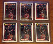 Michael Jordan Bulls 1992-93 Topps Gold 50 Pt Basketball Card #205 lot of 6 HOF