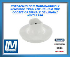 COPERCHIO CON INGRANAGGIO X KENWOOD TRIBLADE HB HBM HDP KW712996 DE LONGHI ORIG