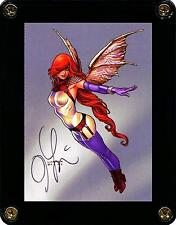 DAWN FAIRY 2 CARD 30 SIGNED BY ARTIST JOSEPH MICHAEL LINSNER